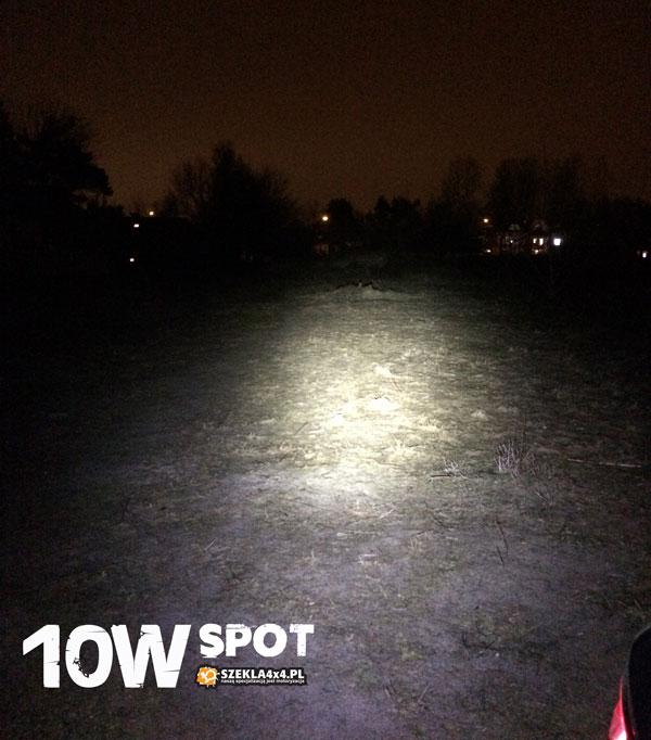 moc światła lampy 10W