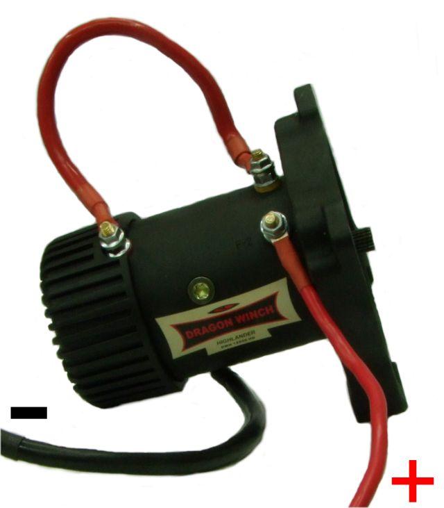 podłączenie wyciągarki na krótko